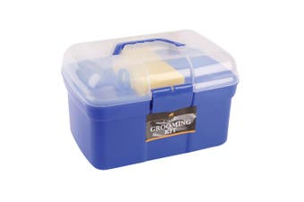 Lincoln Grooming Kit (Blue) (One Size)