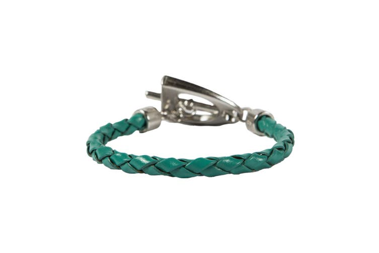 Noble Outfitters Womens/Ladies In The Stirrup Leather Bracelet (Spruce) (One Size)