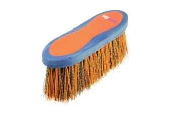HySHINE Pro Groom Long Bristle Dandy Brush (Navy/Orange) (One Size)