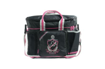 HySHINE Pro Grooming Bag (Black/Pink/Grey) (One Size)