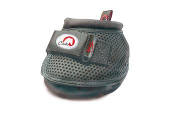 Cavallo Trek Regular Sole Touch Fastening Horse Boot (Black) - UTBZ2669