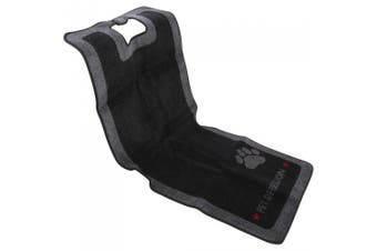 Pet Rebellion Car Seat Carpet (Black) (One Size)