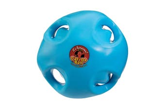 Carrot Ball Horse Toy (Blue) (One Size)