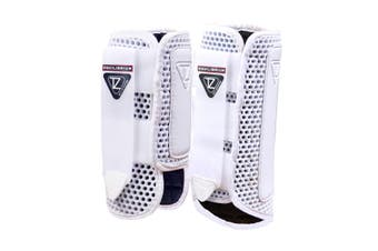 Equilibrium Tri-Zone Impact Sports Hind Horse Boots (White) (XS)