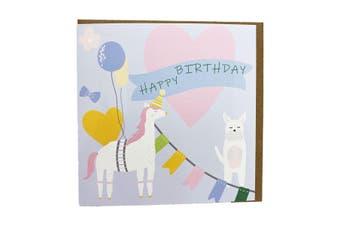 Gubblecote Pinata Birthday Card (Multicoloured) (One Size)