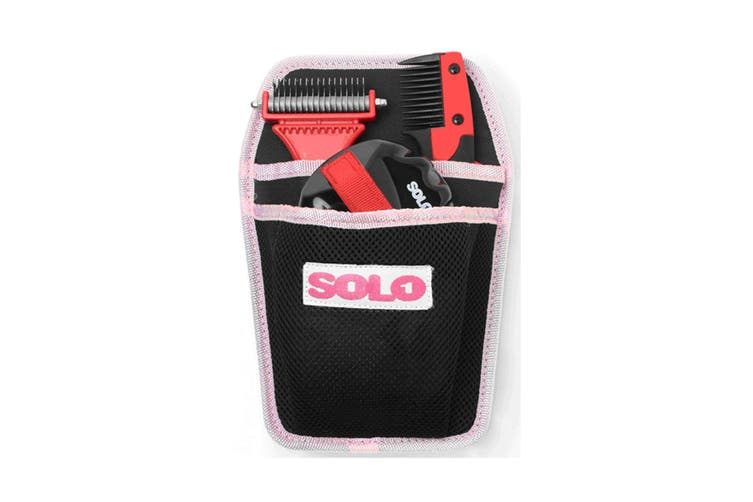 SoloGroom Solokit (Black/Red) (One Size)