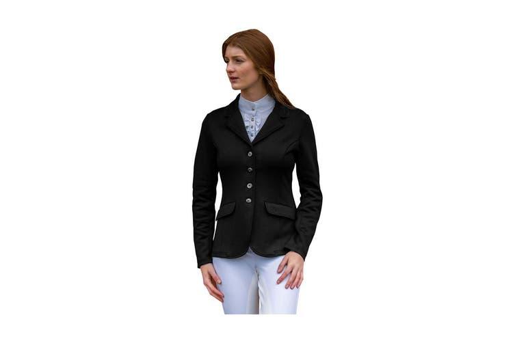 HyFASHION Womens/Ladies Stoneleigh Competition Jacket (Black) (XL)