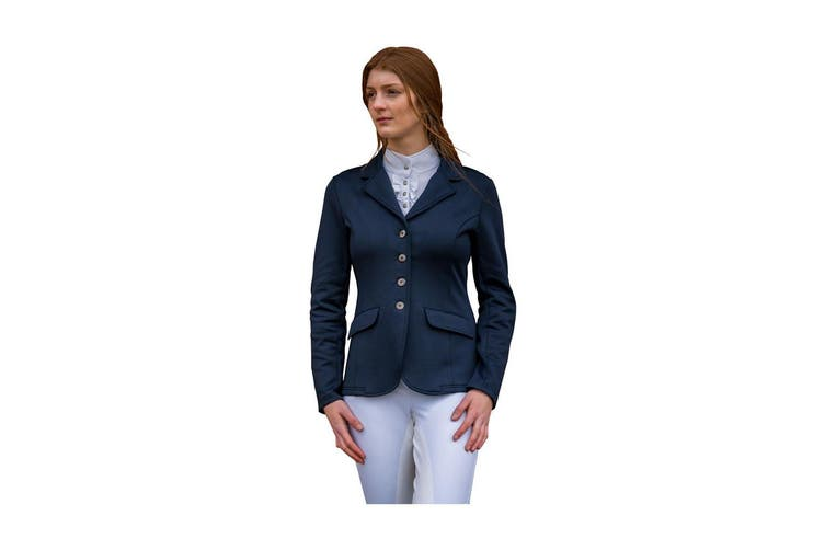 HyFASHION Womens/Ladies Stoneleigh Competition Jacket (Navy) (M)