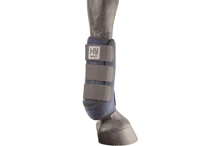 HyIMPACT Sport Support Boots (One Pair) (Navy) (L)