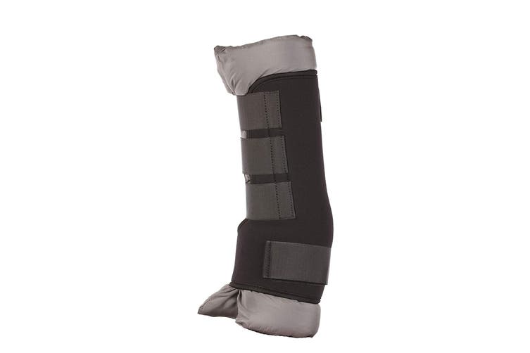 HyIMPACT Stable Protection Boots (One Pair) (Black/Grey) (M)