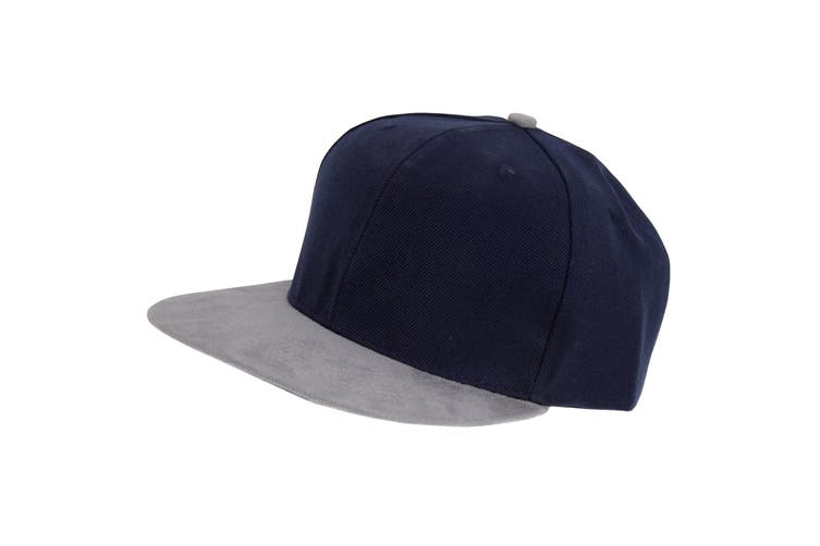 Tom Franks Mens Snapback Baseball Cap (Navy/Grey) (One Size)