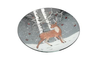 CGB Giftware Christmas Stag Decorative Bowl (Multicoloured) (Large)