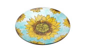 CGB Giftware Sunflower Decorative Bowl (Blue/Yellow) (Large)