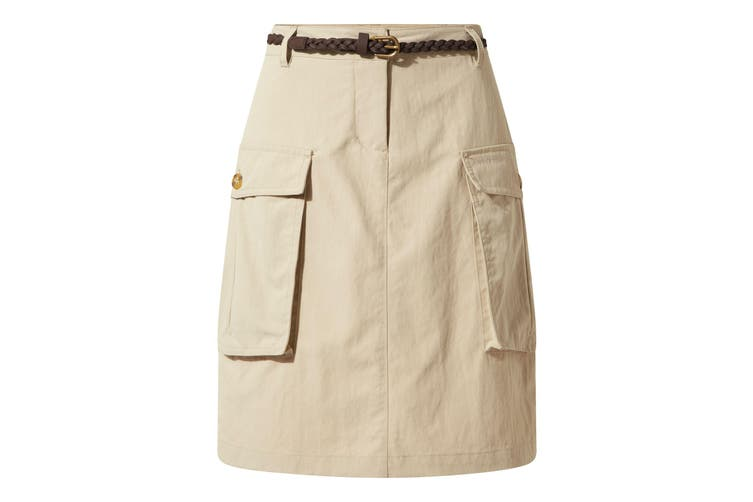 Craghoppers Womens/Ladies NosiLife Savannah Skirt (Desert Sand) (20 UK)