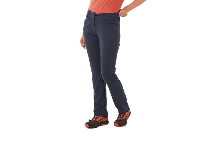 Craghoppers Womens/Ladies NosiLife Clara II Trousers (Soft Navy) (8S UK)