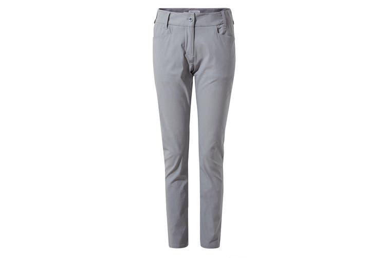Craghoppers Womens/Ladies NosiLife Clara II Trousers (Cloud Grey) (10L UK)