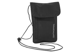 Craghoppers Neck Pouch (Black) (One Size)
