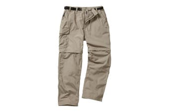 Craghoppers Outdoor Classic Mens Kiwi Convertible Trousers (Beach) (36L)