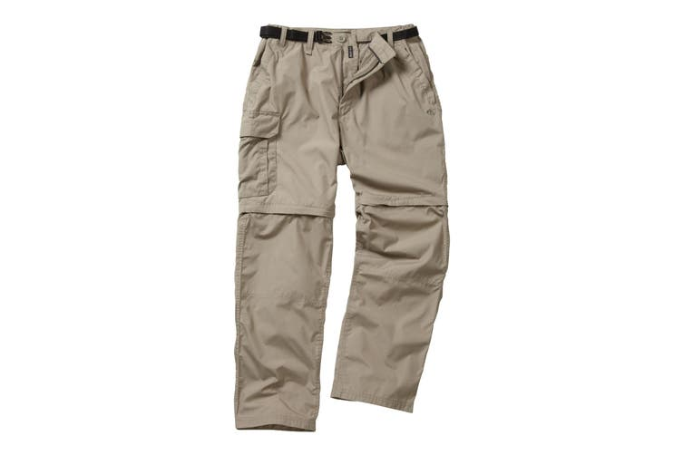 Craghoppers Outdoor Classic Mens Kiwi Convertible Trousers (Beach) (32S)
