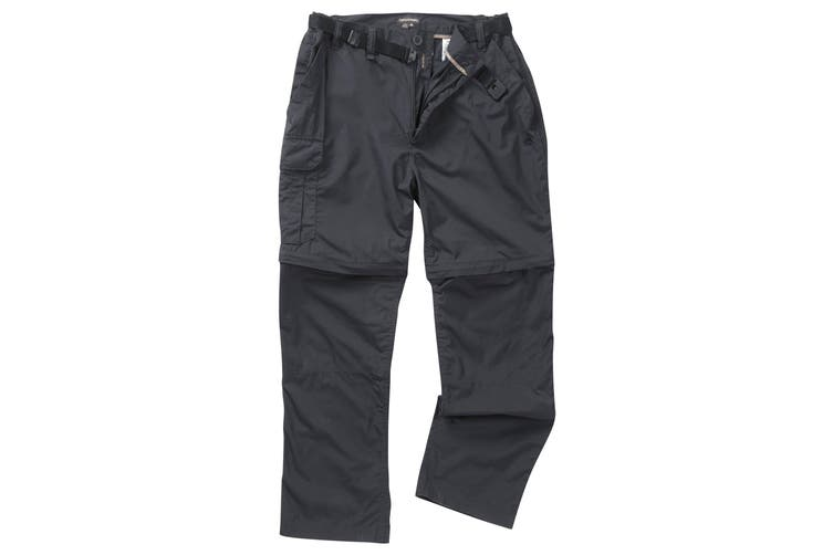 Craghoppers Outdoor Classic Mens Kiwi Convertible Trousers (Dark Navy) (32S)