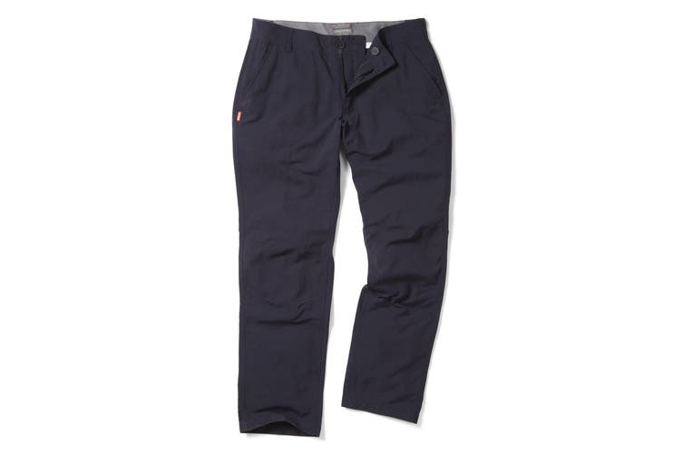 Craghoppers NosiLife Mens Mercier Travel Trousers (Dark Navy) (42R)