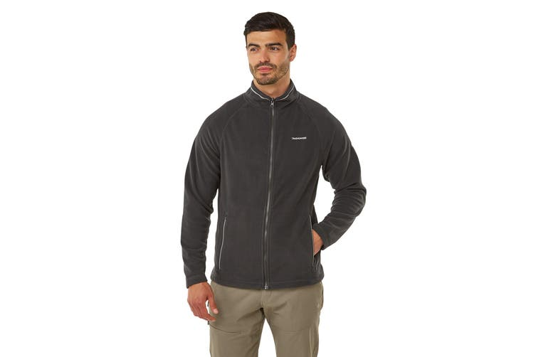 Craghoppers Mens Selby Interactive Insulating Fleece (Black Pepper) (XL)