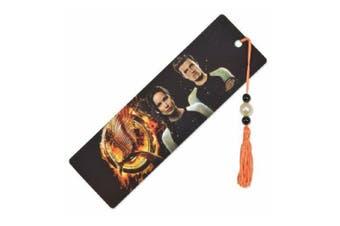 Hunger Games Catching Fire Katniss And Peeta Bookmark (Black/Orange/White) (One size)