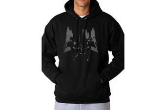Star Wars Adults Unisex Adults Vader Close Up Design Hooded Sweatshirt (Black) - UTCI443