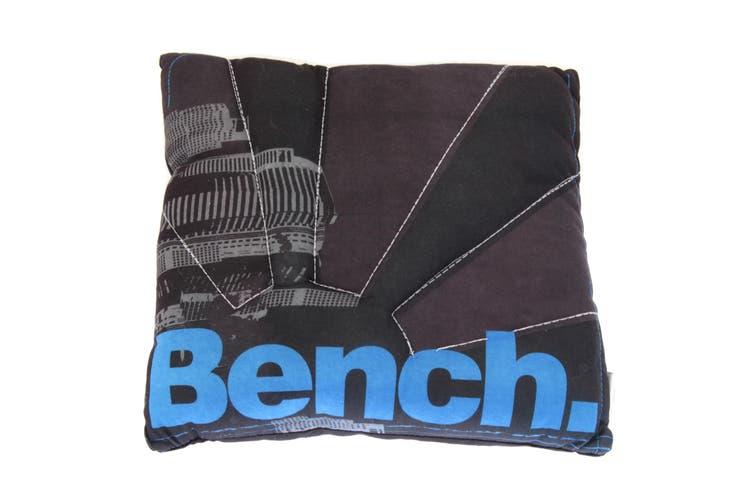 Boys Kids Bench Design Cushion (Black) (One Size)
