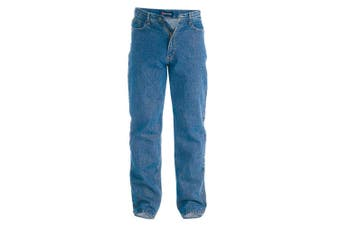 Duke Mens Rockford Comfort Fit Jeans (Stonewash)