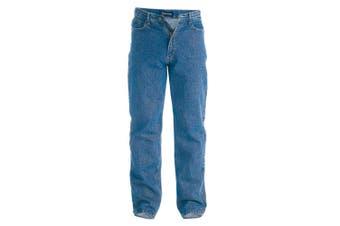 Duke Mens Rockford Comfort Fit Jeans (Stonewash) - UTDC158