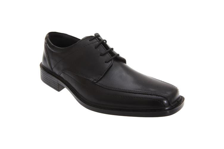 Roamers Mens Superlite Lace-Up Leather Shoes (Black) (8 UK)