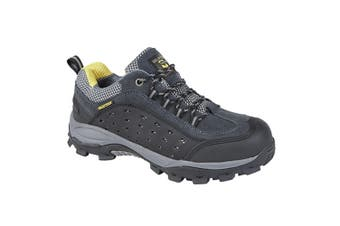 Grafters Mens Super Light Fully Composite Non-Metal Safety Trainers (Dark Grey) (12 UK)