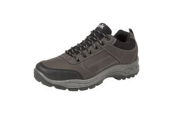 Dek Mens Breathable Hiking Shoes (Dark Grey) (8 UK)