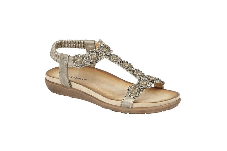 Cipriata Womens/Ladies Giovanna Sandals (Pewter) (8 UK)