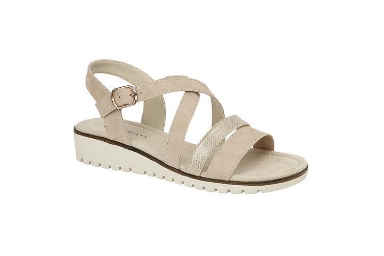 Cipriata Womens/Ladies Flavia Sandals (Gold) (7 UK)