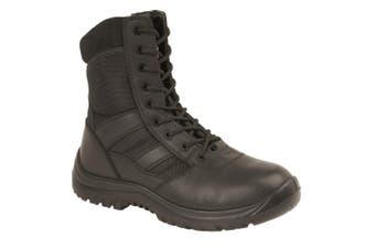 Grafters Harrier Mens Combat/Work Boot (Black)