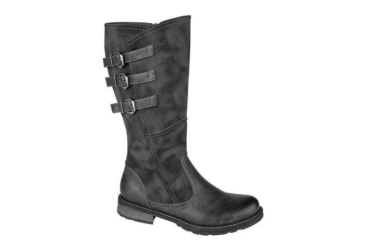 Cipriata Womens/Ladies Romia Calf Boot (Black) (5 UK)