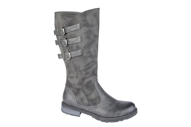 Cipriata Womens/Ladies Romia Calf Boot (Grey) (4 UK)