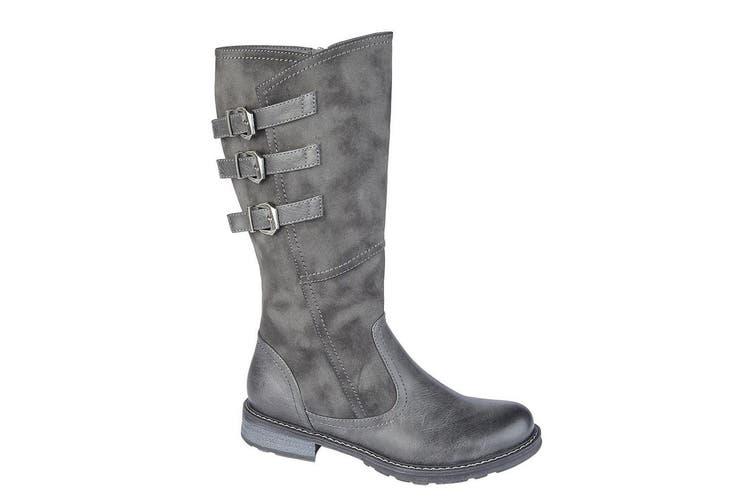 Cipriata Womens/Ladies Romia Calf Boot (Grey) (5 UK)