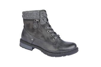 Cipriata Womens/Ladies Florenza Ankle Boot (Grey) (6 UK)