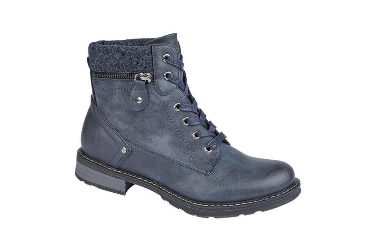 Cipriata Womens/Ladies Florenza Ankle Boot (Navy) (7 UK)