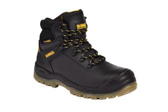 Dewalt Newark Mens Leather Waterproof Safety Boot (Black) (9 UK)