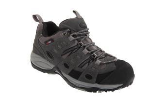 Johnscliffe Mens Approach Trekking Shoes (Grey/Black) (10 UK)