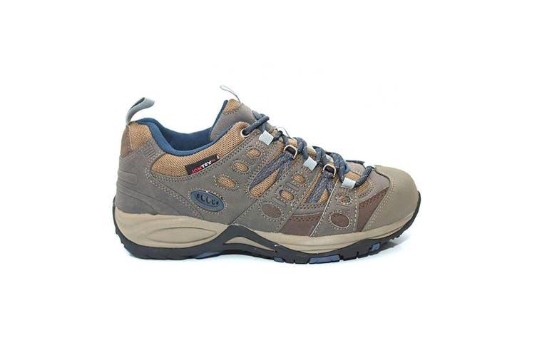 Johnscliffe Mens Approach Trekking Shoes (Brown/Navy Blue) (10 UK)