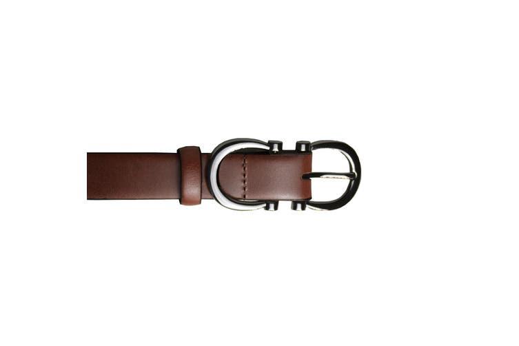 Eastern Counties Leather Womens/Ladies Feature Buckle Belt (Brown) (10)