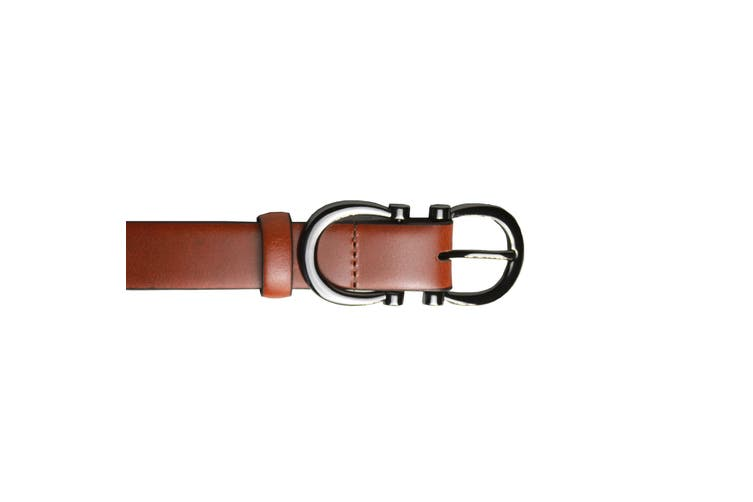Eastern Counties Leather Womens/Ladies Feature Buckle Belt (Tan) (18)