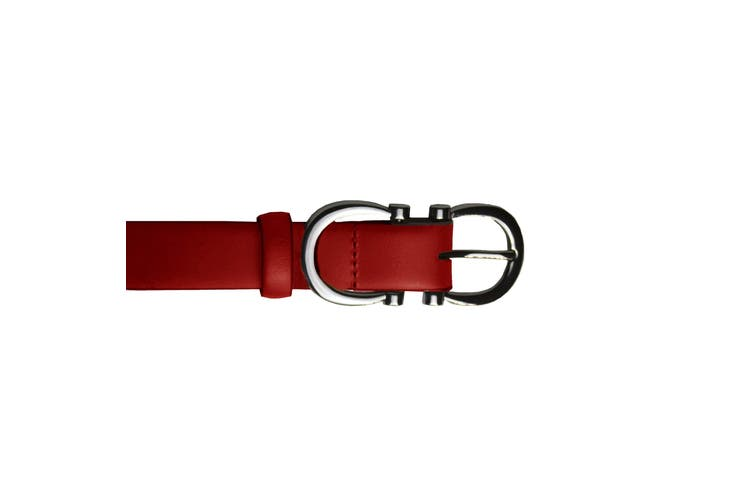 Eastern Counties Leather Womens/Ladies Feature Buckle Belt (Red) (14)