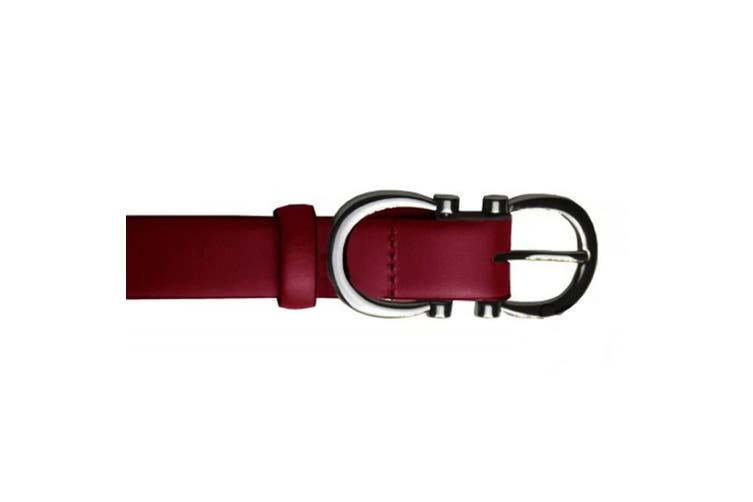 Eastern Counties Leather Womens/Ladies Feature Buckle Belt (Burgundy) (10)