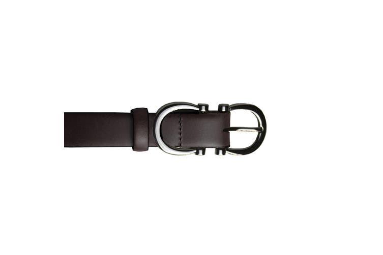 Eastern Counties Leather Womens/Ladies Feature Buckle Belt (Black) (10)